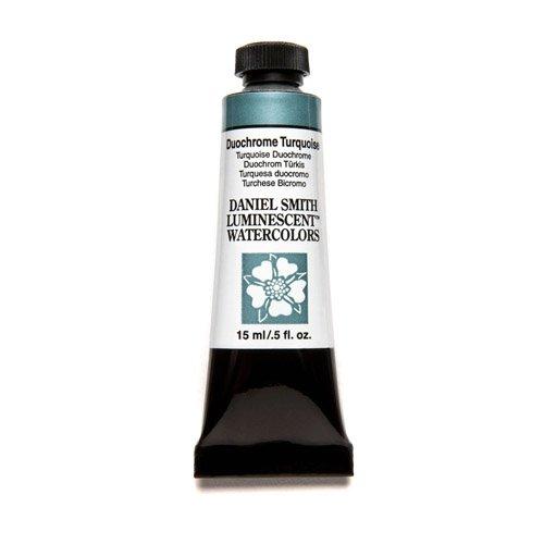 DANIEL SMITH آبرنگ فوق العاده زیبا 15ml لوله رنگ ، دو رنگ ، فیروزه ای