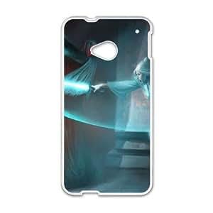 HTC One M7 Cell Phone Case White Star Wars 002 Mxfjx