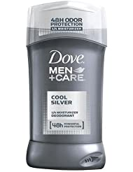 Dove Men +Care Non-Irritant Deodorant, Cool Silver - 3 oz