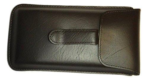 Semi Hard Pocket Clip EyeGlass case Large Size - Frames Large Eyeglass Mens