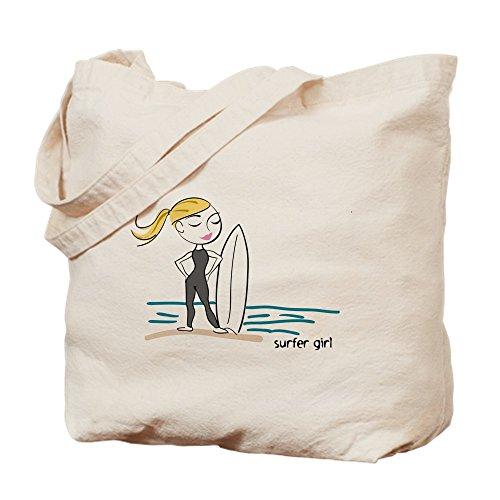 Bag Natural Girl Surfer CafePress Tote Cloth Bag Canvas Shopping gZAX7x