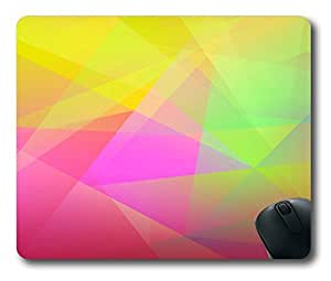 Color Abstract Art Easter Thanksgiving Personlized Masterpiece Limited Design Oblong Mouse Pad by Cases & Mousepads