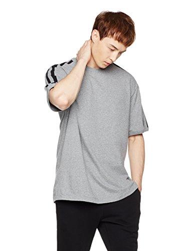 Mens Ringer T-shirt - Something for Everyone Men's Short Sleeve Stripe Ringer T-Shirt Large Gray Heather