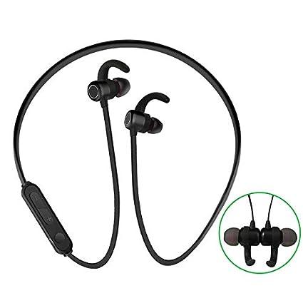Amazon Com Bluetooth Headphones Wireless Neckband Earbuds 4 2
