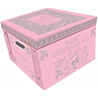 Pink My Baby Keepsake Box A Lifetime Of Memories Large Collapsible Storage Box