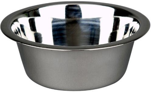 Advance Pet Products Stainless Steel Feeding Bowls, 1-Pint