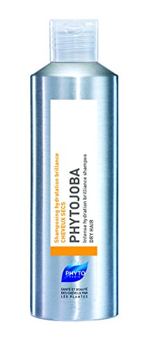 PHYTOJOBA Intense Hydration Brilliance Botanical Shampoo | For Dry Hair | Nurtures & Softens, Restores Elasticity, Hydrates, Brings Shine | Coconut Based, Jojoba Oil | Paraben, Silicone, Gluten Free