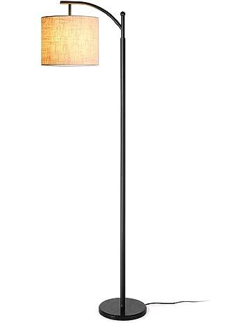 b863c94292 Zanflare Lámpara de pie para salón. Lámpara de pie con pantalla colgante