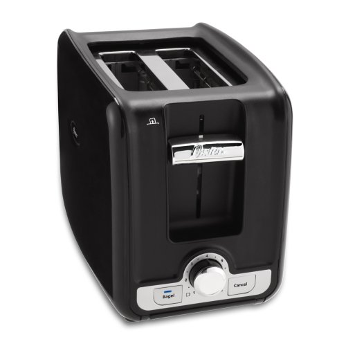 Oster TSSTTRWA21 2-Slice Toaster, Black (Oster Compact Toaster Oven compare prices)
