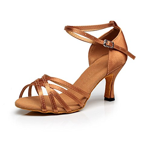 Minitoo - salón mujer Brozne-7.5cm Heel
