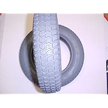 14 X 3 3.00-8 Pneumatic Air Filled Wheelchair Tires, for use with inner tubes