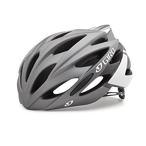 Giro Savant Rennrad Fahrrad Helm titanium weiß matt 2019  Größe  S (51-55cm)