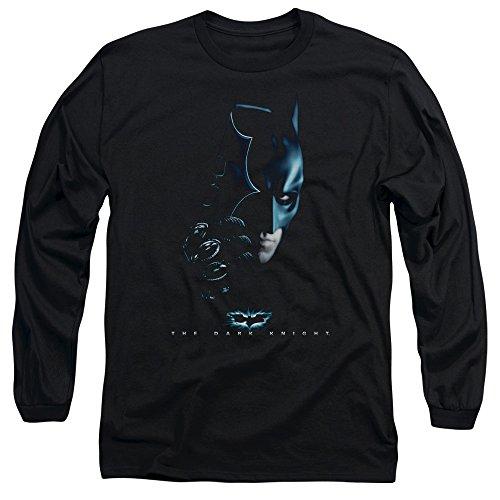Trevco Men's Dark Knight Batman Adult Long Sleeve T-Shirt at Gotham City Store