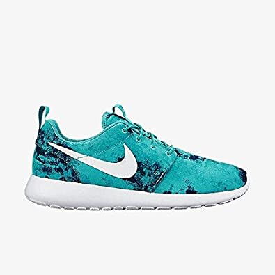 Nike Roshe One Print (10.5, Light Retro/Teal Artisan-White)
