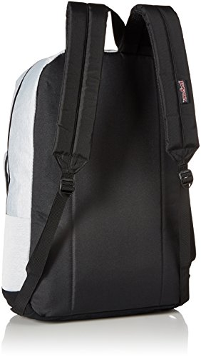 De Poly 100 Right Grey Heathered Pack Polyester Bolsas Hombres Pack Back Jansport HUwT7qT