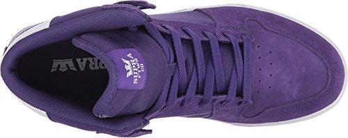 Vaider LC Supra white Sneaker Purple avxPfxqzw