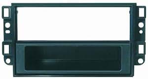 Phonocar 3/368 - Marco embellecedor para radio doble DIN/norma ISO para Chevrolet/Aveo/Captiva/Epica, color negro