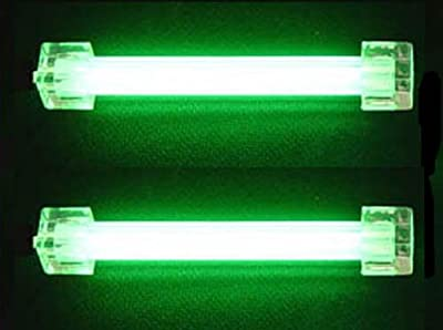 Logisys 4 Inch Dual Cold Cathode Kit (Green) CLK4GN2 by Logisys Computer