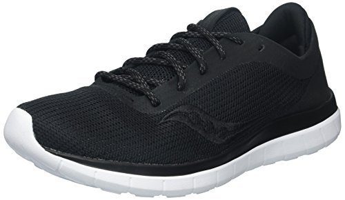 Saucony Women's Liteform Escape Running Shoes, Black, 7.5 M US