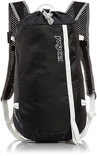 JanSport Sinder 15 Backpack - Grey Tar / 18.1H x 9.5W x 5.1D