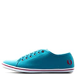 Fred Perry WOMEN PHOENIX CANVAS Bright Lagoon 9 SNEAKERS