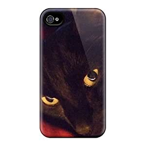 Tpu Jeffrehing Shockproof Scratcheproof House Panther Hard Case Cover For Iphone 4/4s