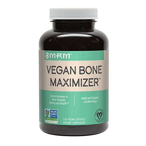 MRM - Vegan Bone Maximizer, Supports Bone Strength, Density & Health, Made from Organic Certified Algae (120 Vegan Capsules)