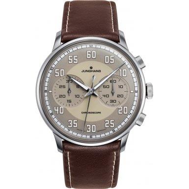 Junghans Meister Drive Chronoscope Men's Watch - 027/3684.00