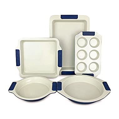 Vitesse 5-piece Bakeware Set, Nonstick Carbon Steel