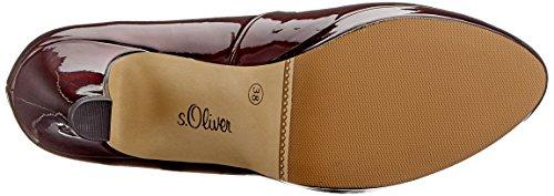 S Brevetto 24400 517 Women's 31 Red vino oliver Pumps rZaqwr