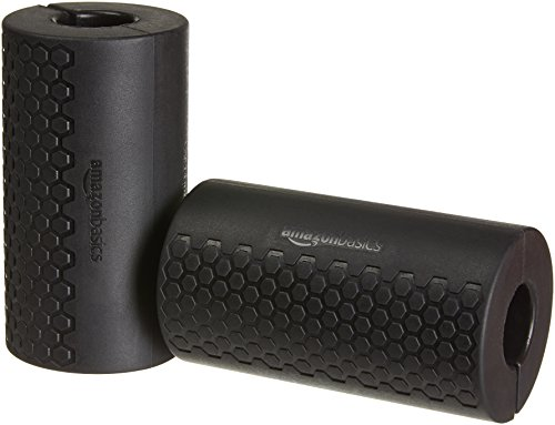 AmazonBasics Thick Dumbbell and Barbell Grips, Large
