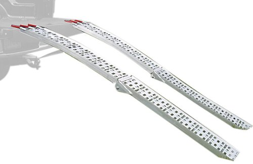 Extreme Max 5500.4075 7.5' Aluminum Folding Mesh Ramp Set...