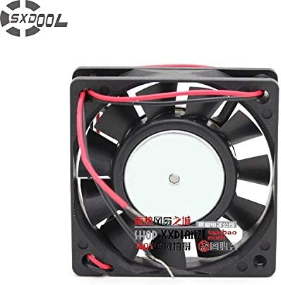 SXDOOL FBA06T12H 12V 0.21A 6015 606015mm 6CM computer axial case cooling fan