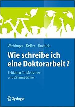 Book Wie schreibe ich eine Doktorarbeit? (Springer-Lehrbuch)
