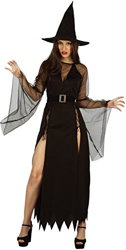 U LOOK UGLY TODAY Womens Halloween Costume Witch Cosplay for Adult Fancy Party Dress One Size -