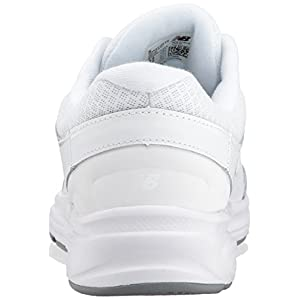 New Balance Women's WW411v2 Walking Shoe, White, 5.5 D US