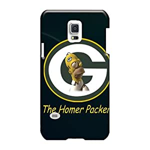 Shockproof Hard Phone Case For Samsung Galaxy S5 Mini (nvA11115XFlD) Customized Lifelike Green Bay Packers Pictures