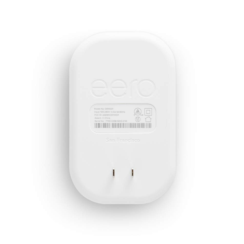eero Beacon– Advanced Mesh WiFi System Wireless Add-on with Simple Wall Plug-in Design with Nightlight to Extend eero Networks – Replaces Range Extenders by Eero (Image #1)