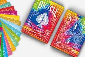 TCC Rainbow Playing Cards by Bicycle (Kickstarter) USPCC by Wilddeckdotcom