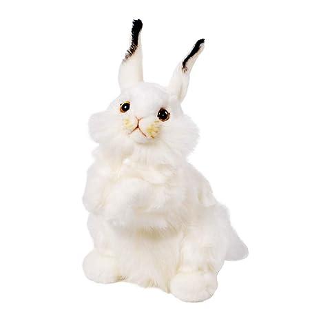 Blanco Naughty Baby Simulación Crl5s3ajq4 Juguete Conejo Peluche De LSGqjzVUpM