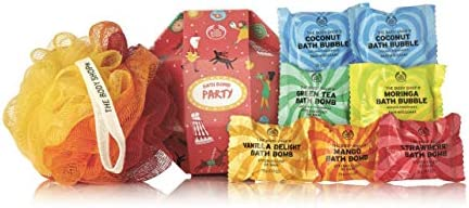 The Body Shop Bath Bomb Party Gift Set Includes 7 Bath Bombs A Colorful Bath Lily Buy Online At Best Price In Ksa Souq Is Now Amazon Sa