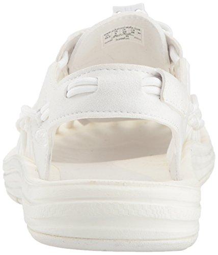 Keen Uneek W Star, Zapatillas de Marcha Nórdica Para Hombre, Blanco (Bianco), 37 EU