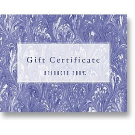 Gift Certificate, $500 by Balanced Body