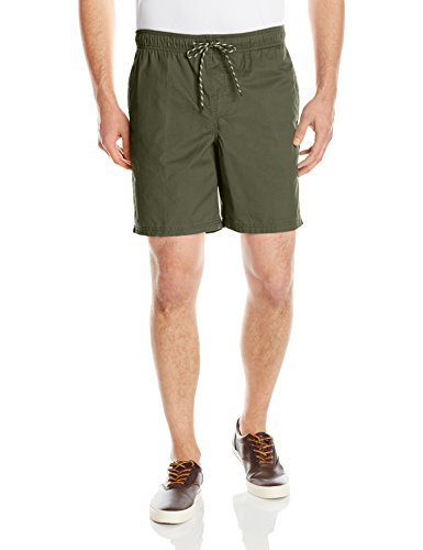 (Amazon Essentials Men's Drawstring Walk Short, Olive, Small)