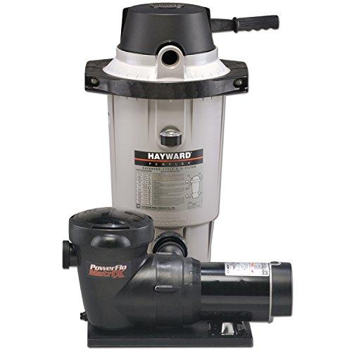 (Hayward EC40C92S Perflex 1 HP D.E. Filter Pump System)