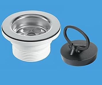 mcalpine kitchen sink waste plug set. beautiful ideas. Home Design Ideas