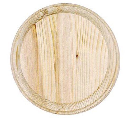 Darice 9179-60 Wooden Round Plaque, 5-Inch