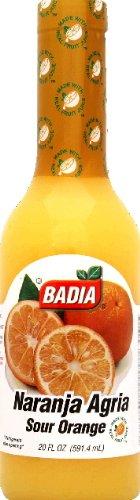 Badia Naranja Agria Sr Orange, 20-Ounce (Pack of 12)