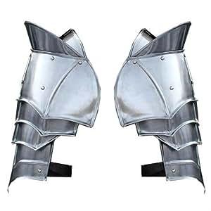 Steel Warrior Pauldron Medieval Shoulder Armor Set by Armory Replicas