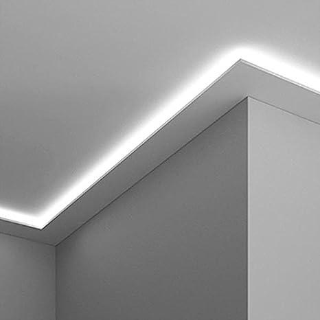 Illuminazione A Soffitto.Cornice Per Illuminazione Indiretta Led A Parete O Soffitto